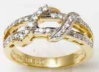 Indian Gold Diamond Ring Designer