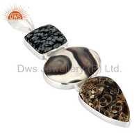 Gemstone Sterling Silver Pendant Jewelry