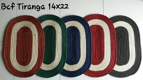 OVAL DOOR MAT