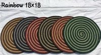 ROUND BRAIDED PLACEMATS
