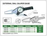 External Dial Caliper Gauge