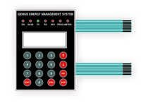 Energy Management System Membrane Keypads