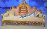 Royal Asian Wedding Sofa/Wedding Carved Couch