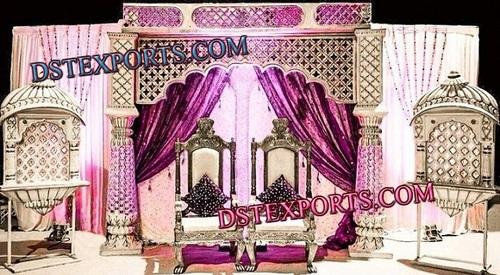 RAJASTHANI ROYAL WEDDING STAGE SET