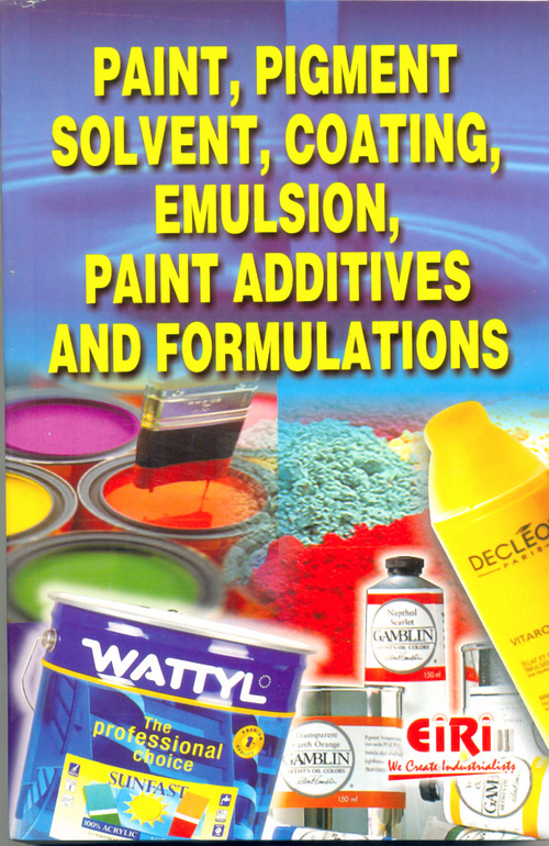 Paint, Pigment, Solvent, Coating, Emulsion, Paint Additives and Formulations