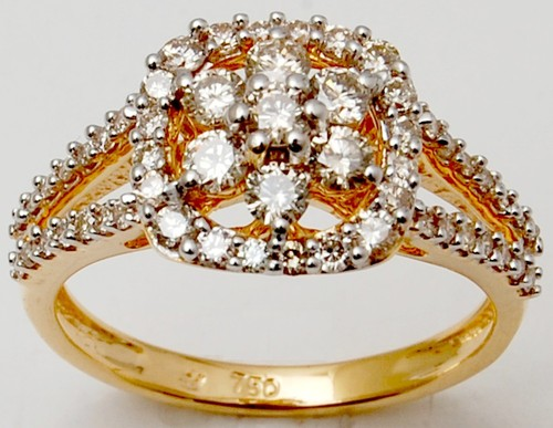 Fine Gold Diamond Ring Supplier