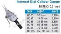 Internal Dial Caliper Gauge