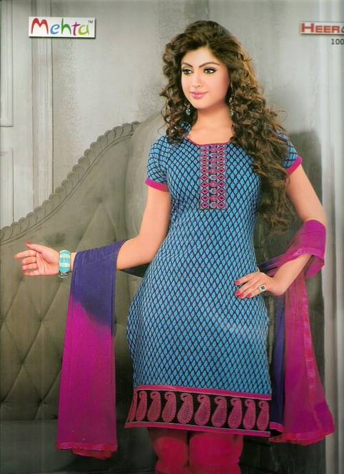Latest Cotton Dress Materail