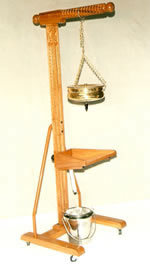 Shirodhara Stand with Head Support(wooden)