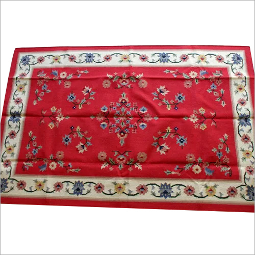 Cotton Woolen Rugs,Wool Rugs,Cotton Wool Kilim Rug,Indian Wool,Handmade Multi Color Rug,