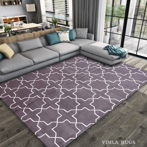 Cotton Flat Weave Area Rug