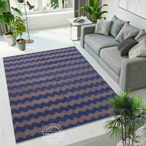 Indoor Cotton Flat Weave Rug
