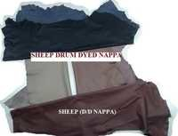Sheep Drum Dyed Nappa Leather