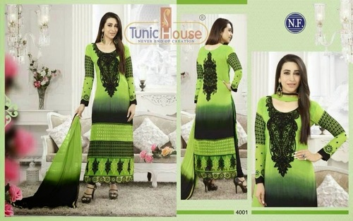 Embriodered Straight Cut Suit
