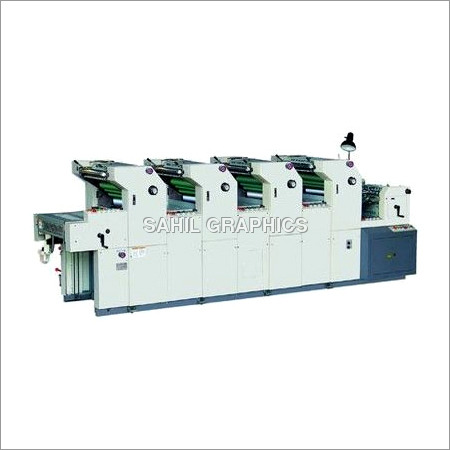 Four Colour Non Woven Bag Printing Machine