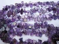 VIOLET AMETHYST 2MM-5MM BEADS GEMSTONE
