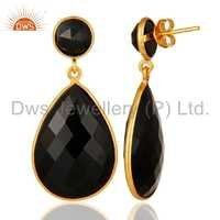 Black Onyx Gemstone Earring Supplier