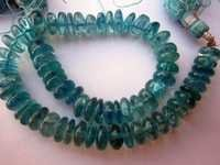 Apatite plain roundell beads gemstone 7 inch 7mm-8mm
