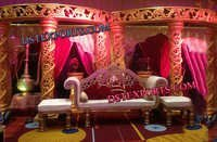 MUSLIM WEDDING DECORATIVE STAGE