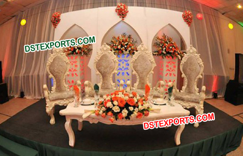 Nigerian Wedding Chairs Set