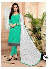 Semistitched Churidar Suits