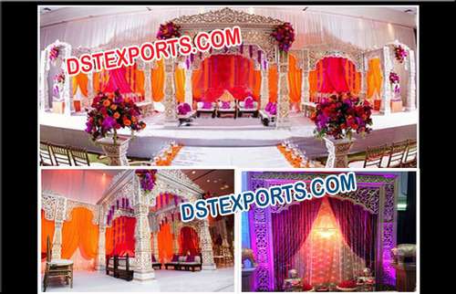 Bollywood Wedding Fiber Mandap