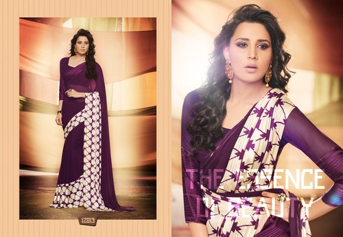 Exclusive Satin Saree