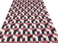 Cotton Geometrical Punja Rug