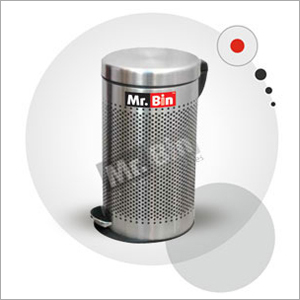 SS Perforated Pedal Dustbin