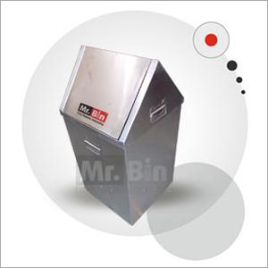 Stainless Steel Flap Bin