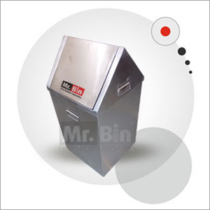 Stainless Steel Flap Bin