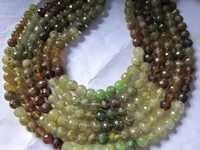 13 inch grosullar garnet 5mm-6mm round beads gemstone