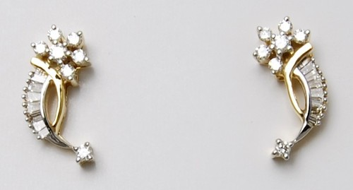 Cluster Design Diamond Earring Designer