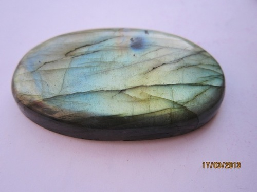 1 pcs labradorite 50x30 oval shape cabochon beads gemstone