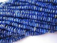 13 inch lapis 4mm-6mm tyre beads