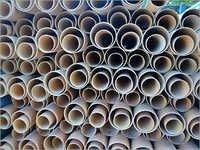 Round PVC Pipes