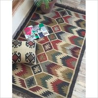 Natural Jute Rug/ Carpet - Jute Dhurrie - Jute Area Rug - Eco-Friendly Dhurrie