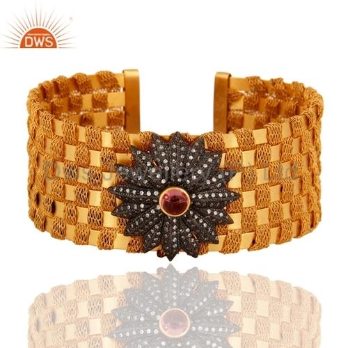 Sterling Silver Wide Cuff Bracelets
