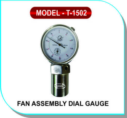Fan Assembly Dial Gauge