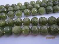 8 inch vassonite 8mm-9mm machine cut faceted round beads gemstone