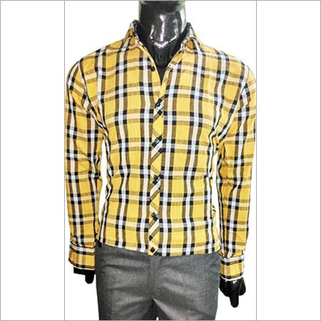 Light Yellow Casual Shirt