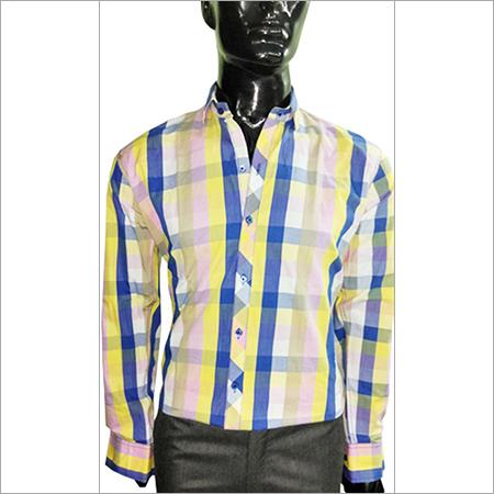 Light Orange &  Blue Shirt