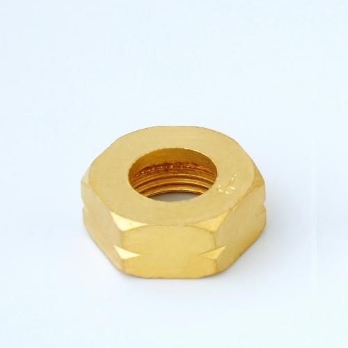 Brass Cylinder Pigtail Nut