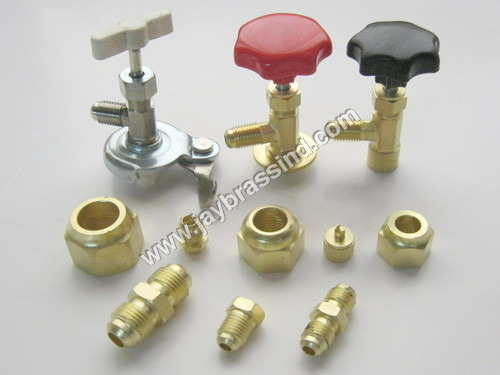 Brass Refrigerant Can Tap Valve
