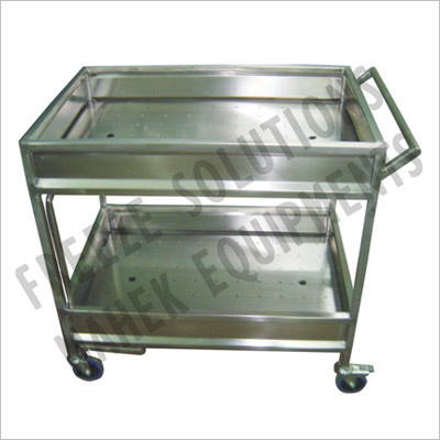 Clean Glass Trolley