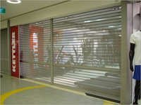 Transparent Rolling Shutters