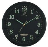 Black Night Glow Clock