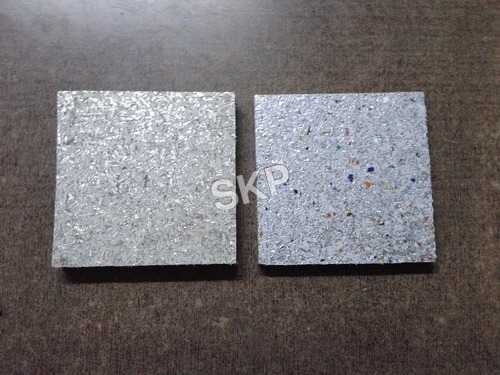 Plastic sheet wall covering