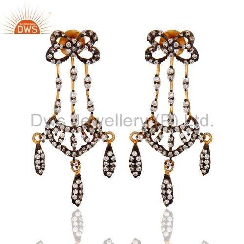 CZ Cubic Zirconia Earrings