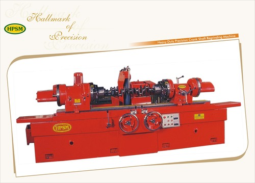 Crank Shaft Regrinding Machine
